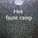 Kamp lager onderwijs 19/08 t.e.m. 23/08/'19 (VOLLEDIGE DAG)