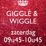 Giggle & Wiggle ZATERDAG - 12/01 t.e.m. 22/06/2019 - 09u45-10u45 (€6,00/les)