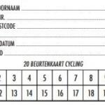 20-beurtenkaarten Indoor Cycling (Spinning®)